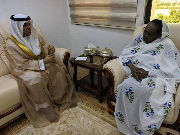FM Receives message from UAE Counterpart