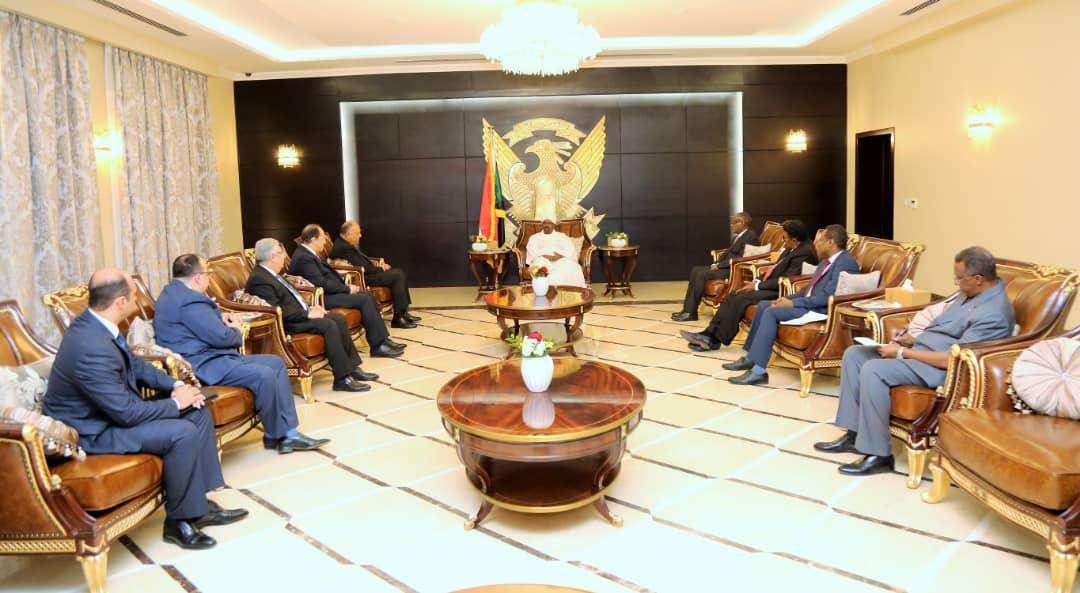 President Al Bashir Affirms Firmness of Sudanese Egyptian Relations