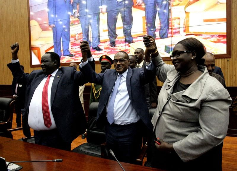 South Sudanese Groups Sign Power Sharing Agreement