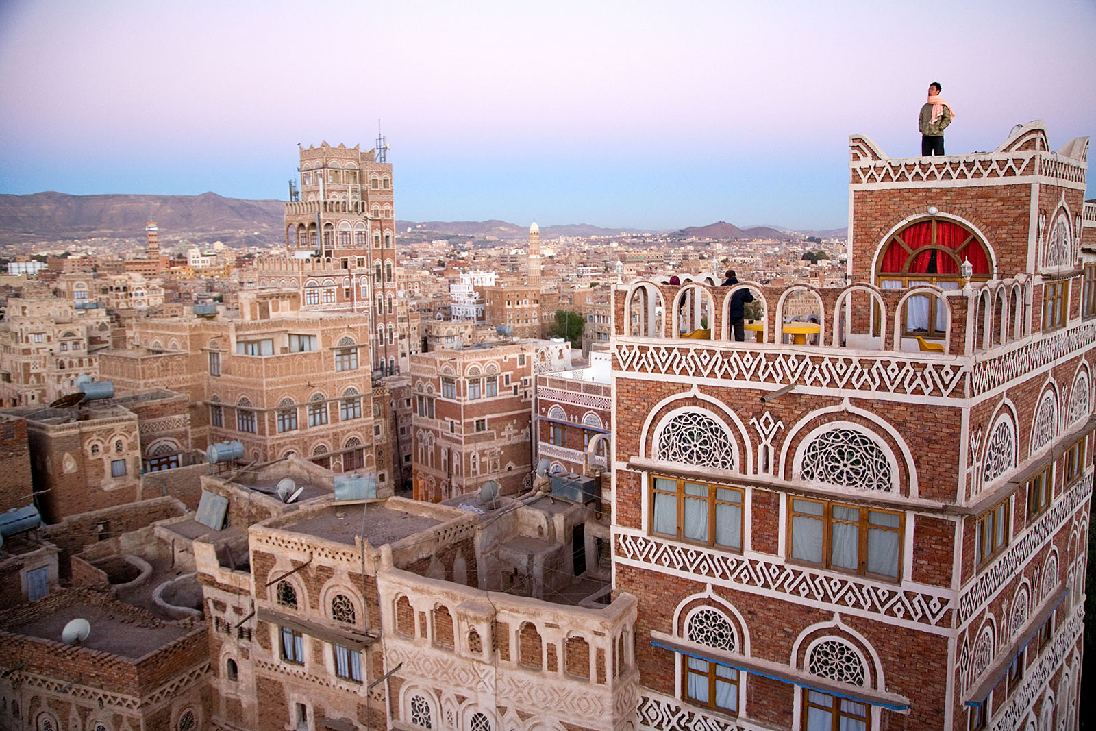 arabia middle east yemen Sanaa old city architecture