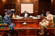 Hamdouk receives Police Directors report on overall conditions in Kassala