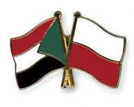 Flag Pins Sudan Poland