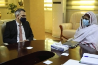 Foreign Minister Receives Head of UNITAMS Mission