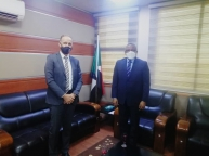 Acting FM Meets the UNHCR Representative