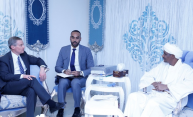 Daglo received delegation of US Sterling Organization