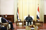 Al Burhan Stresses Firmness of Relations Between Sudan and South Africa