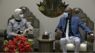 Egypts Health Minister arrives Khartoum leading medical delegation
