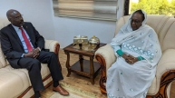 Asma Receives Ambassador of Chad