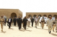 Al Burhan Inspects Suggested Quarantine Centers at Naqaa Musawarat Selait and Hattab Areas